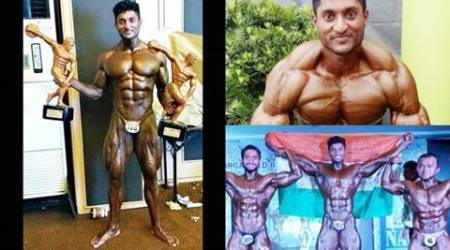 mr. asia, mr. asia 2016, g balakrishna, g balakrishna bodybuilder, mr asia 2016 winner, bengaluru News, water tanker driver, body building, water tanker driver mr. asia, water tanker driver mr. asia 2016, mr asia 2016 bodybuilding, mr asia 2016 results, mr asia, bengaluru guy mr asia, mr asia 2016, bengaluru water tanker driver, bengaluru water tanker driver mr asia, Arnold Schwarzenegger of Whitefield, Rohit Khandelwal, 5th Phil-Asia bodybuilding championships, indian express, indian express news