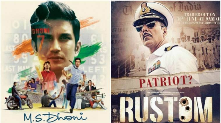 MS Dhoni, MS Dhoni biopic, MS Dhoni movie box office, MS Dhoni box office, Rustom, Rustom box office, Rustom vs ms dhoni box office