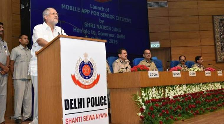 Police Commissioner Alok Kumar Verma,International Day of Older Persons, delhi police, senior citizens mobile app, delhi senior citizens, Google Play Store, tech news, delhi news, india news, latest news