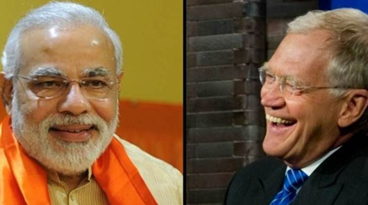 Prime Minister Narendra Modi to talk about climate change with David Letterman.