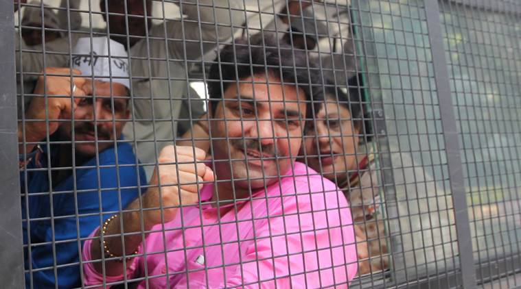 Naresh Balyan, aap mla naresh balyan, AAP MLA arrested, AAP, AAP arrests, naresh balyan arrested, AAP controversies, FIR against AAP MLA, Delhi news, India news, latest news, Indian express