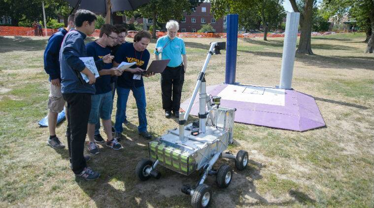 NASA, NASA contest, NASA prize, NASA sample collecting robot, NASA robots, West virginia university mountaineers NASA award, centennial challenges programme, worcester polytechnic institute NASA, mars, mas missions, NASA mars missions, science, space news, science news