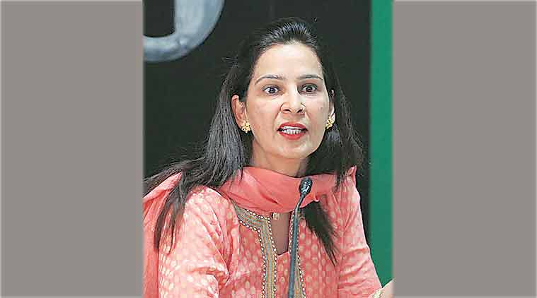 "Navjot Kaur Sidhu was boycotted from the party events since her husband Navjot Singh Sidhu left the party."" /><meta name=""news_keywords"" content=""navjot kaur resignation, navjot kaur sidhu, navjot kaur sidhu bjp, navjot kaur sidhu bjp mla, navjot kaur resigns, navjot singh sidhu wife, navjot singh sidhu party, awaaz e punjab, india news"