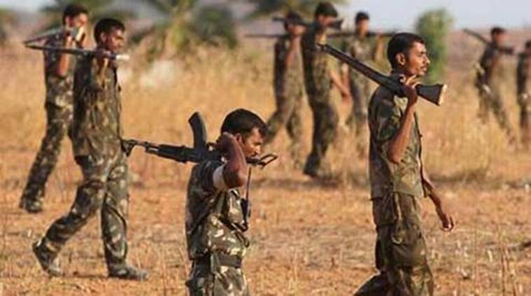 naxals, naxalites in chhattisgarh, chhattisgarh naxals, india news, indian express, chhattisgarh, chhattisgarh naxal, naxal killed, naxal commander killed, naxal insurgency, india news