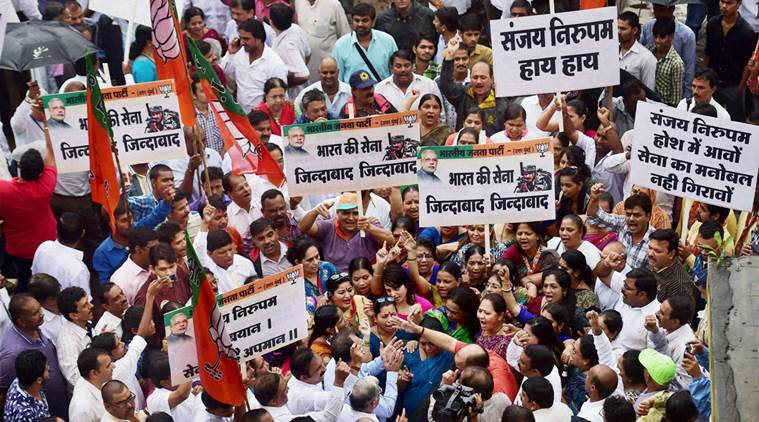 Sanjay nirupam, congress leader, congress sanjay nirupam, BJP, Bharatiya janta party, indian army, surgical strikes, PoK surgicak strikes, sanjay nirupam tweet, proof, video, india news, indian express
