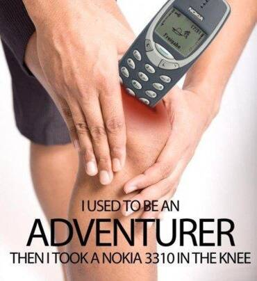 This is why many did not pursue their dream career in sports. (Source: Nokia Memes/Facebook)