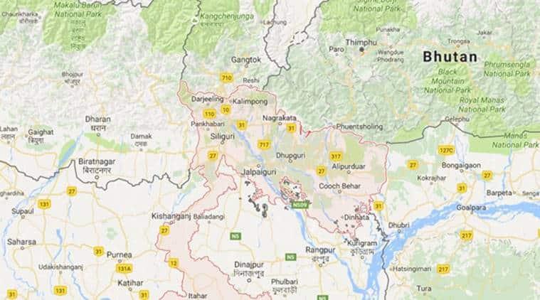 west bengal, north bengal, north bengal rains, north bengal landslips, north bengal landslides, rain north bengal, sikkim landslide, indian express, india news
