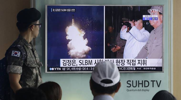 North Korea missile, North Korea missile launch, missile launch, united states, US detects missile, ballistic missile, US defence department, North Korea, World news