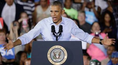 Barack Obama, Obama, Hillary Clinton, Clinton campaign, Democrats, US Elections 2016, US presidential elections, US elections news, US news, world news, latest news, indian express