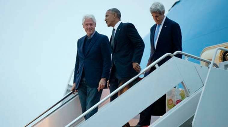 barack obama, bill clinton, obama israel visit, obama israel, bill clinton israel, air force one plane, us news, world news