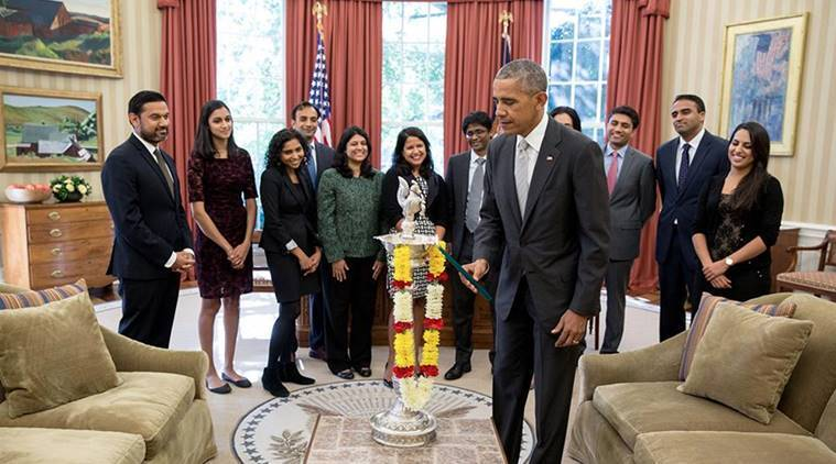 barack obama, diwali, diwali white house, obama diwali, diwali in america, hillary clinton diwali, donald trump diwali, obama celebrates diwali