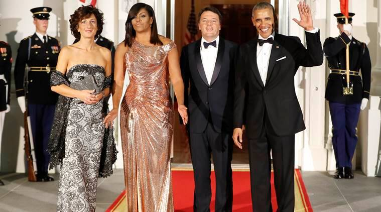 barack obama, barack obama state dinner, obama state dinner, obama dinner, obama state dinner italy, obama last dinner white house, world news, indian express news