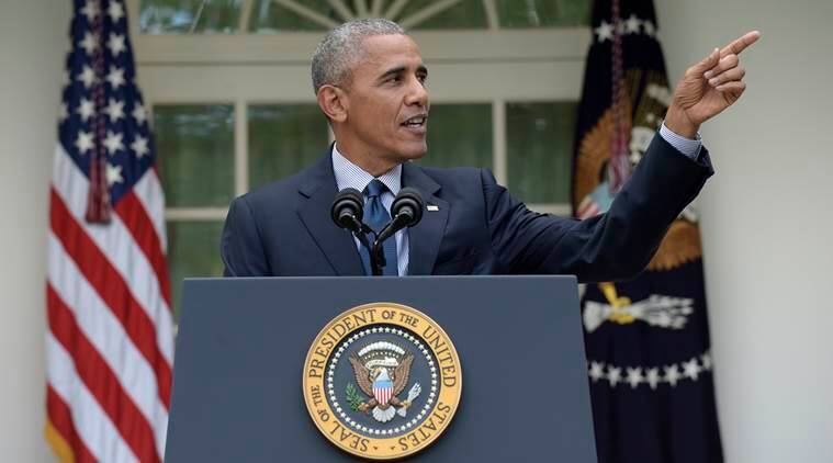 Paris climate agreement, paris climate summit, paris climate meet, us president, barack obama, obama, climate change, climate agreement, world news, indian express