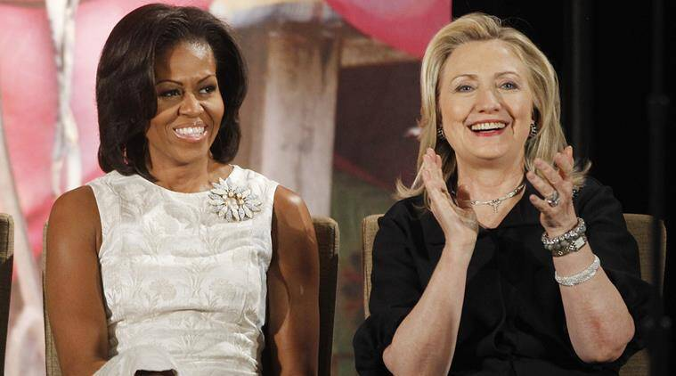 hillary clinton, michelle obama, US election, US election 2016, clinton obama, michelle obama clinton, donald trump