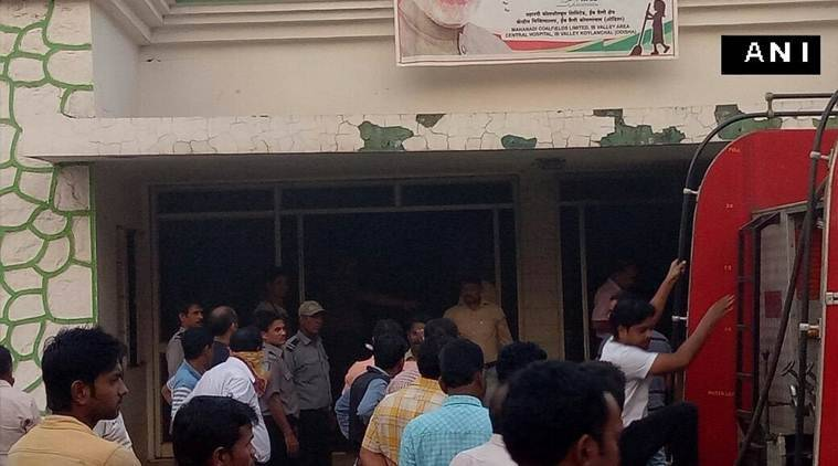 ODisha, Odisha hospital fire, Fire, Fire in odisha hospital, Jharsugada district, Odisha's Jharsugada district, Jharsugada district hospital, odisha news, india news, indian express news