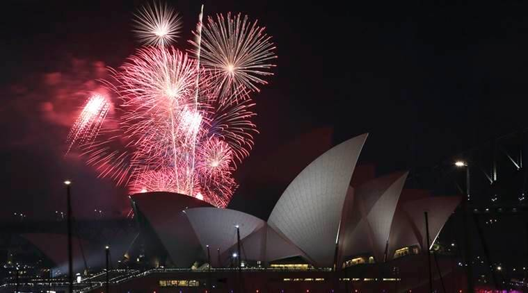 Representational image: Fireworks explode over the Sydney Opera House. (Source: AP)