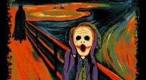 International Moment of Frustration Scream Day, the scream edvard munch, the scream memes, indian express, indian express news
