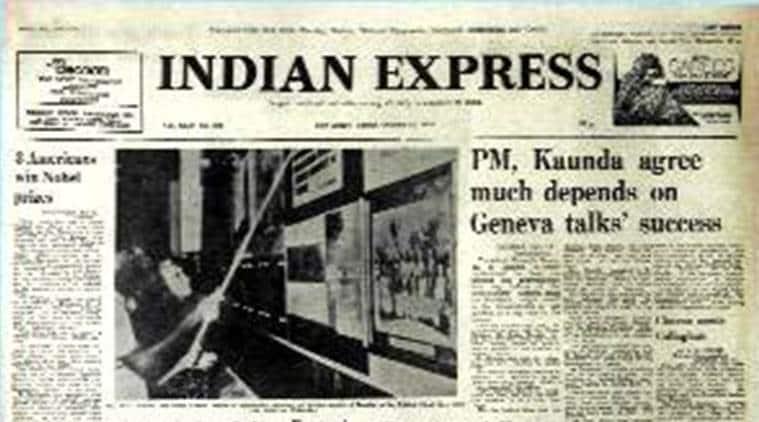 Nobel prize, Nobel prize 2016, Milton Friedman, indian express Forty Years Ago, Forty Years Ago, indian express