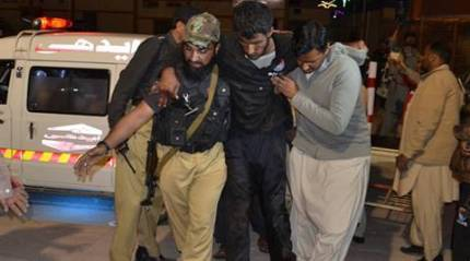 Quetta attack: More than 60 killed in Pakistan police academy attack, say officials