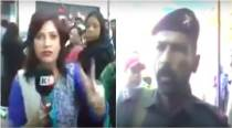 VIDEO: Pakistani female journalist slapped by security officer on air while reporting