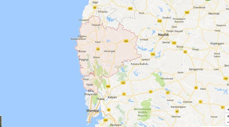 maharashtra, maharashtra news, maharashtra palghar, palghar fire, palghar polyster yarn manufacturing unit, palghar fire, polyester manufacturing unit fire, indian express, india news