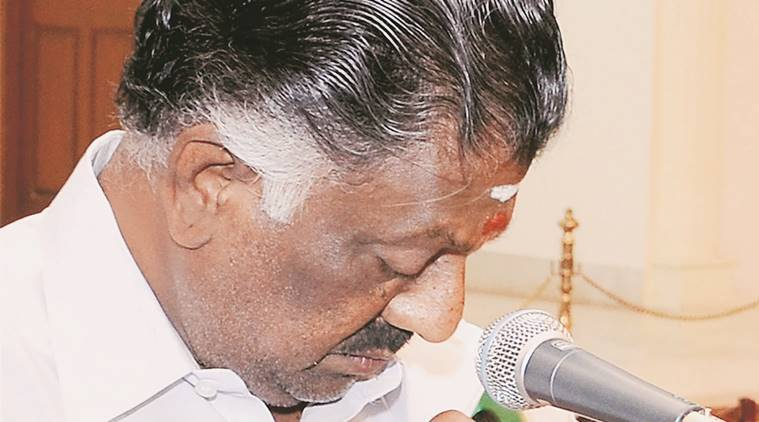 Tamil Nadu drought, Tamil Nadu CM, O panneerselvam, panneerselvam, Tamil Nadu farmers, Tamil Nadu drought conditions, indian express news