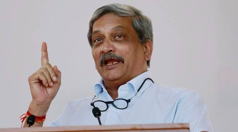 Manohar Parrikar, Parrikar attacks MNS, Army battle casualty fund, army relief fund, voluntary donation, Indian Army, donation to Indian army, India news, latest news, indian express