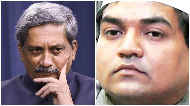 Manohar Parrikar, Parrikar, defence minister Manohar Parrikar, Indian army, Parrikar Indian army, AAP, BJP, Surgical strikes, India, Pakistan, Indo-pak tensions, Indo-pak border, AAP, BJP-AAP, BJP-AAP war, Kapil Mishra, Arvind Kejriwal, India news, indian express news