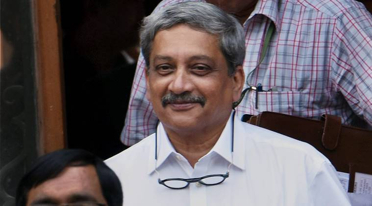 manohar parrikar, parrikar surgical strikes, surgical strikes, manohar parrikar goa, manohar parrikar goa felicitation, india news, indian express,