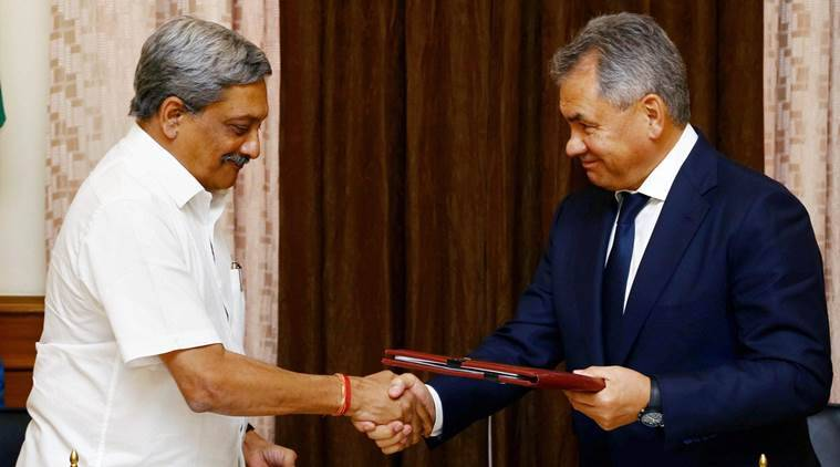 India-Russia, Indo-Russia, Terrorism, india-russia talks, manohar parrikar, Defence Minister Manohar Parrikar, Sergei Shoigu, russian defence minister, double standards, zero tolerance, India-Russia Intergovernmental Commission, india news, indian express