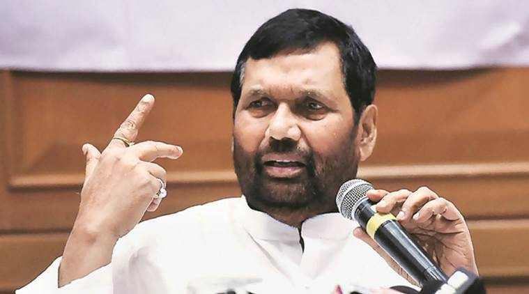 Wrong message sent by giving NGT job to judge who diluted SC/ST law: Ram Vilas Paswan