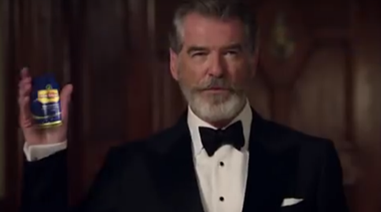 James Bond, Pierce Brosnan, Pan Bahar, James Bond pan masala, Pierce Brosnan image