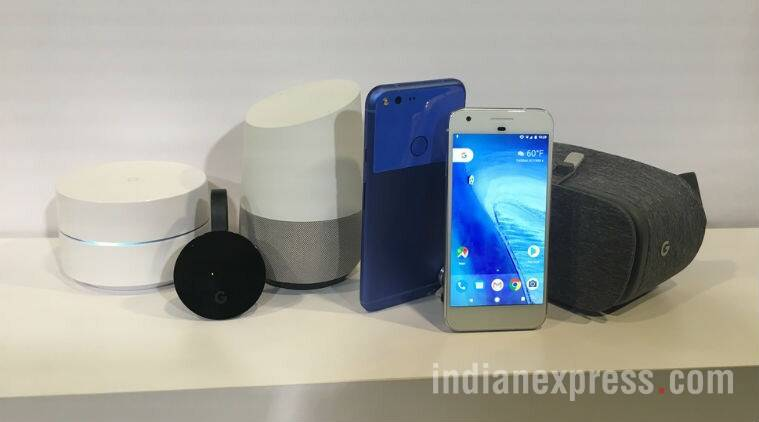 Google, Google Pixel, Google Pixel XL, Google vs Apple, Pixel vs iPhone, Google nexus series, Google pixel vs Apple iPhone, google assistant, Google nexus, Google Pixel launch, Google Pixel XL launch, Google Pixel launch in India, Google Pixel XL launch in India, Google Pixel first impression, Google Pixel XL first impression, Google Latest smartphones, Google Pixel price, Google Pixel XL price, indian express