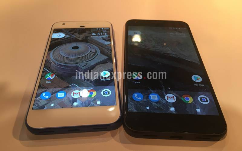 google pixel, made by google, pixel phones, pixel exclusive features, google assistant, apple iPhone 7, samsung galaxy s7 edge, Google Pixel XL vs iPhone 7 vs Galaxy S7, smartphones, tech news, technology