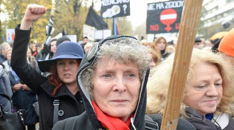 Poland abortion, abortion, poland protest, abortion protest poland, news, latest news, poland news, world news, international news,