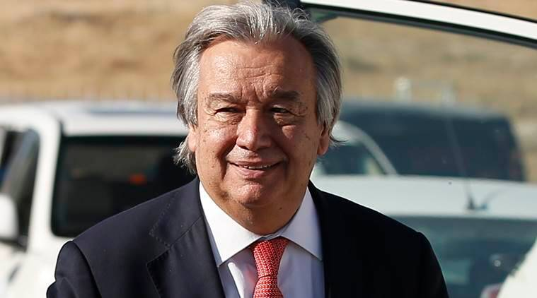 Buddha, Antonio Guterres, Gautama Buddha, Guterres on Buddha, Buddhism, Antonio Guterres in Vesak,  United Nations, indian express news