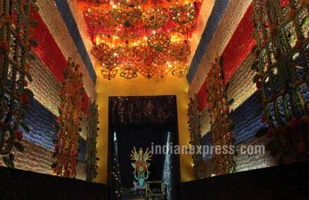 durga puja, durga puja 2016, 2016 durga puja, durga pujo, 2016 durga pujo, durga puja themes, 2016 durga puja theme, 2016 themes durga puja, kolkata pujo, Kumortuli, Kolkata puja theme 2016, kolkata news, bengal news, durga puja news, latest news, indian express, lifestyle news, durga pujo pics, durga pujo 2016 pics,
