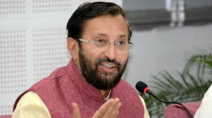 Union HRD Minister Prakash Javadekar. PTI photo
