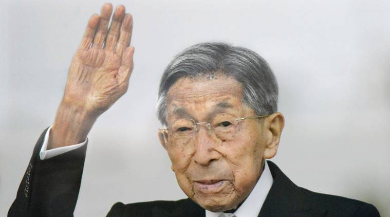 japan, japan emperor, japan emperor uncle dies, Prince Mikasa dead, japan royal family death, Prince Mikasa death, japan news, world news, indian express news