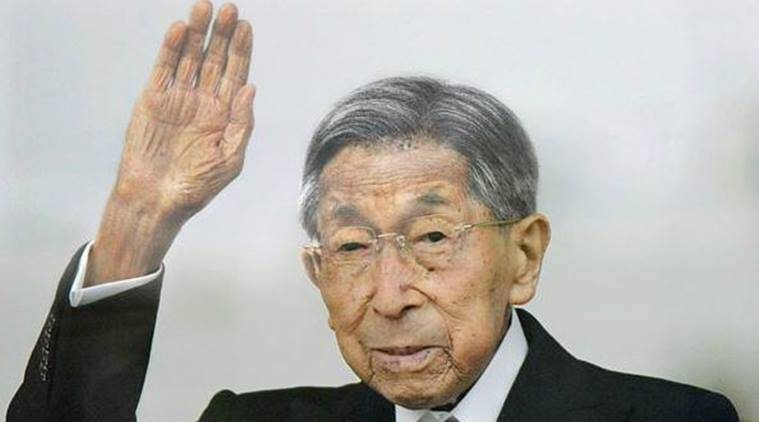 japan emperor, emperor hirohito, price mikasa, prince mikasa dies, prince mikasa dies at 100, japanese emperor's brother dies at 100, japan news, world news, indian express
