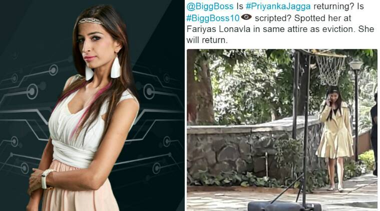 priyanka jagga, priyanka jagga bigg boss, priyanka jagga evicted, bigg boss 10, bigg boss eviction, priyanka jagga eliminated, priyanka jagga facebook, bigg boss priyanka jagga, bigg boss priyanka pees, bigg boss priyanka fights, bigg boss 10 fights, priyanka jagga fights, priyanka jagga return, priyanka jagga wild card, priyanka jagga pictures, priyanka jagga personal life, priyanka jagga pictures, bigg boss news, bigg boss episode, bigg boss salman khan, bigg boss horse task, bigg boss show, bigg boss ten, bigg boss commoners, bigg boss indiawale, television news, priyanka jagga news, entertainment updates, salman khan news, salman khan bigg boss, indian express, indian express news
