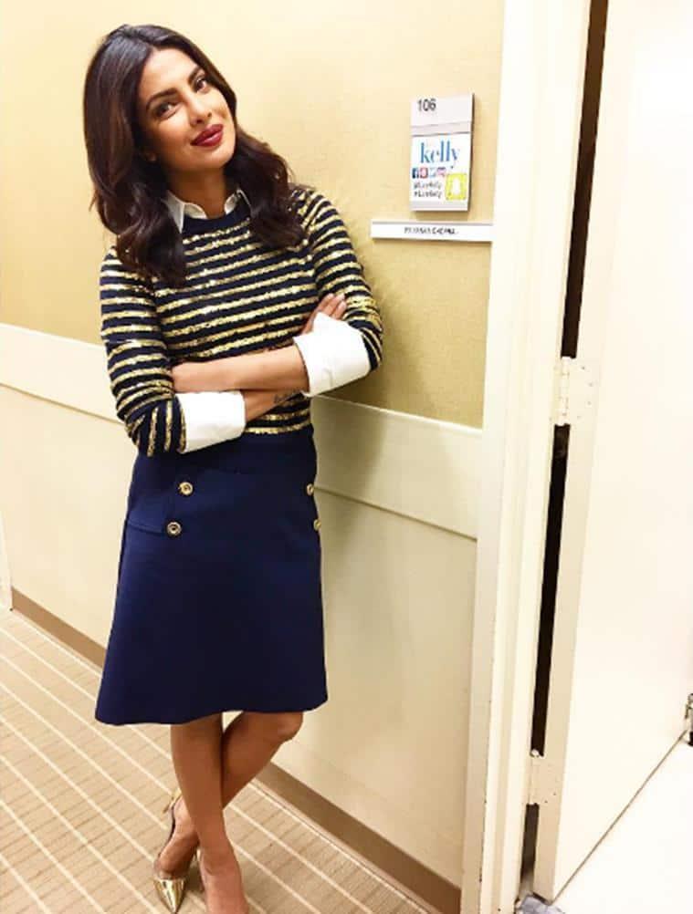 Priyanka Chopra in Michael Kors. (Source: Instagram/Cristina Ehrlich)