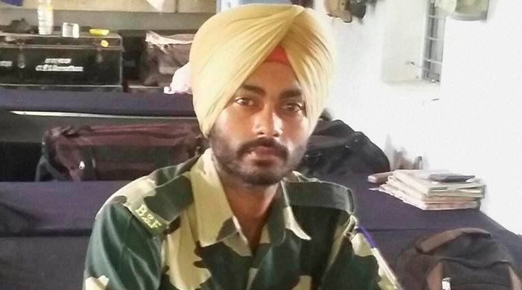 gurnam singh, bsf jawan gurnam singh, bsf jawan death, bsf jawan memorial, india news, indian express, BSF Jawan, Jammu jawan, kashmir jawan, Jawan dead, Pakistan shooting, kathua shooting, news, latest news, India news, national news