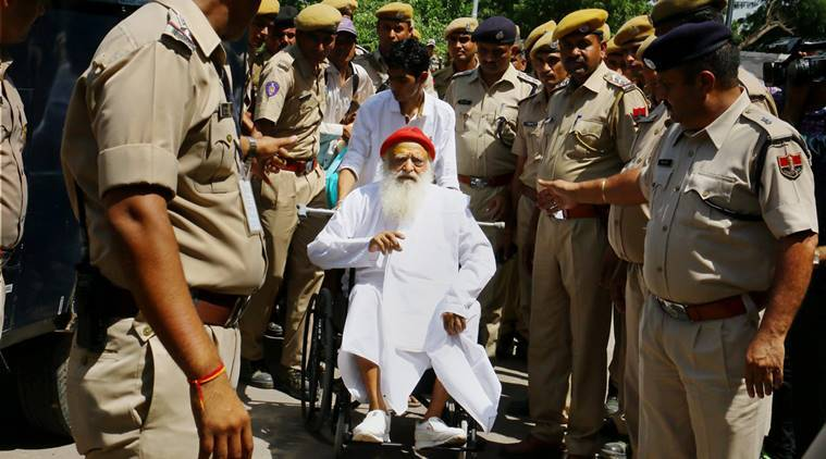 SC raps Gujarat govt for slow trial of rape accused Asaram Bapu