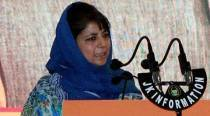 Instead of encounters, try to bring back youths to mainstream: Mehbooba Mufti on local militants