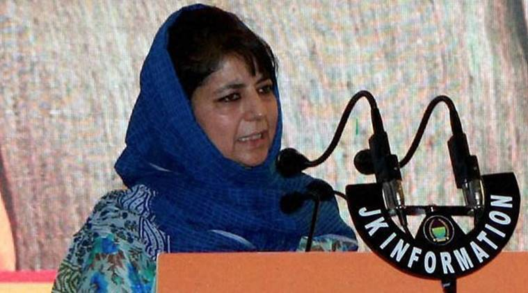 kashmir, jammu kashmir, mehbooba mufti, mufti, mehbooba, peace, kashmir peace, news, latest news, India news, national news, Kashmir news