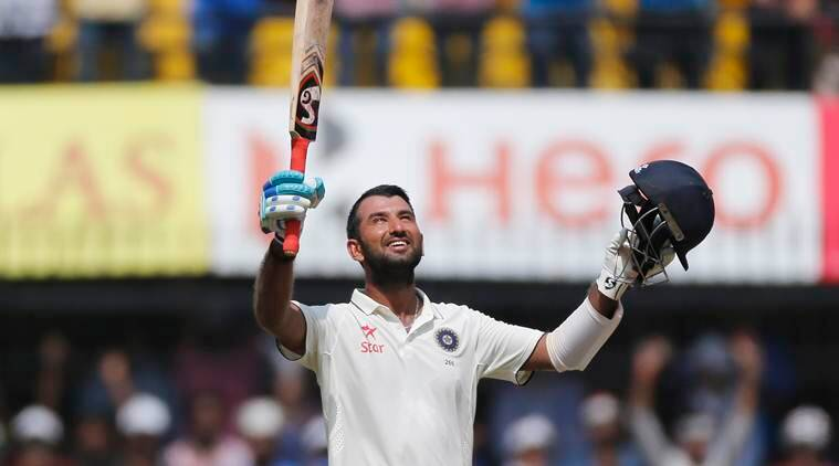 india vs new zealand, ind vs nz, india new zealand, pujara, cheteshwar pujara, pujara 100, ind vs nz score, india vs new zealand score, cricket score, cricket news cricket