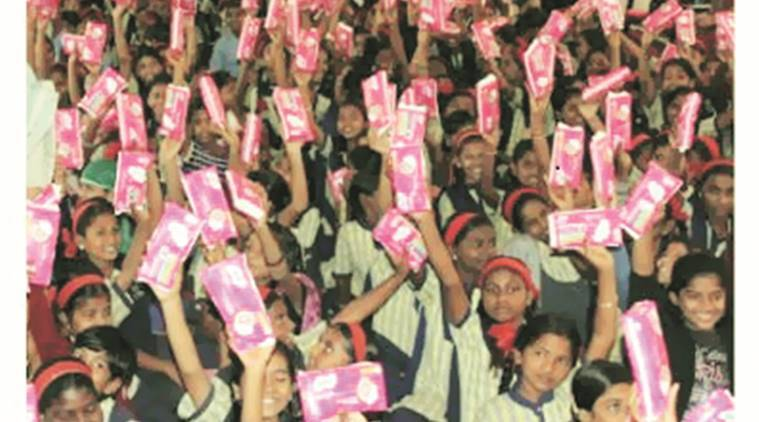 period essentials, menstrual cycle, The Violet, Violet love initiative, sanitary products , menstruation supplies, India news, Indian express news