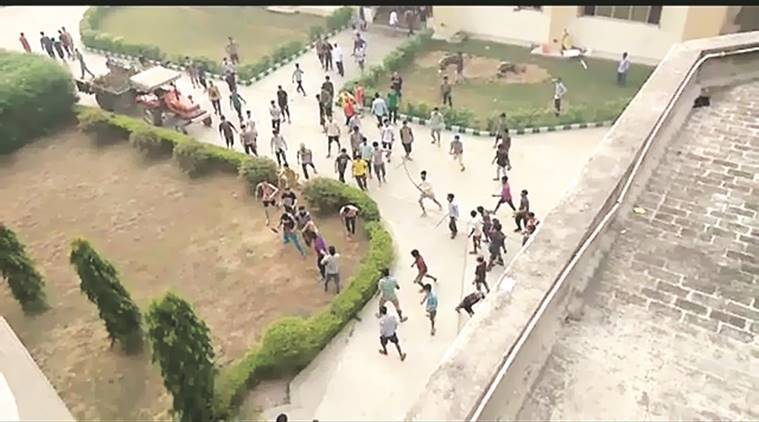 kashmir students, ludhiana students clash with kashmiri students, india news, indian express,
