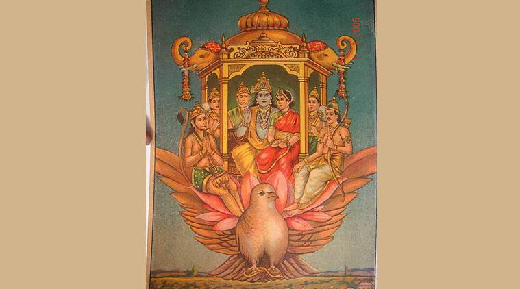 How did Ram return to Ayodhya from Lanka in just 20 days